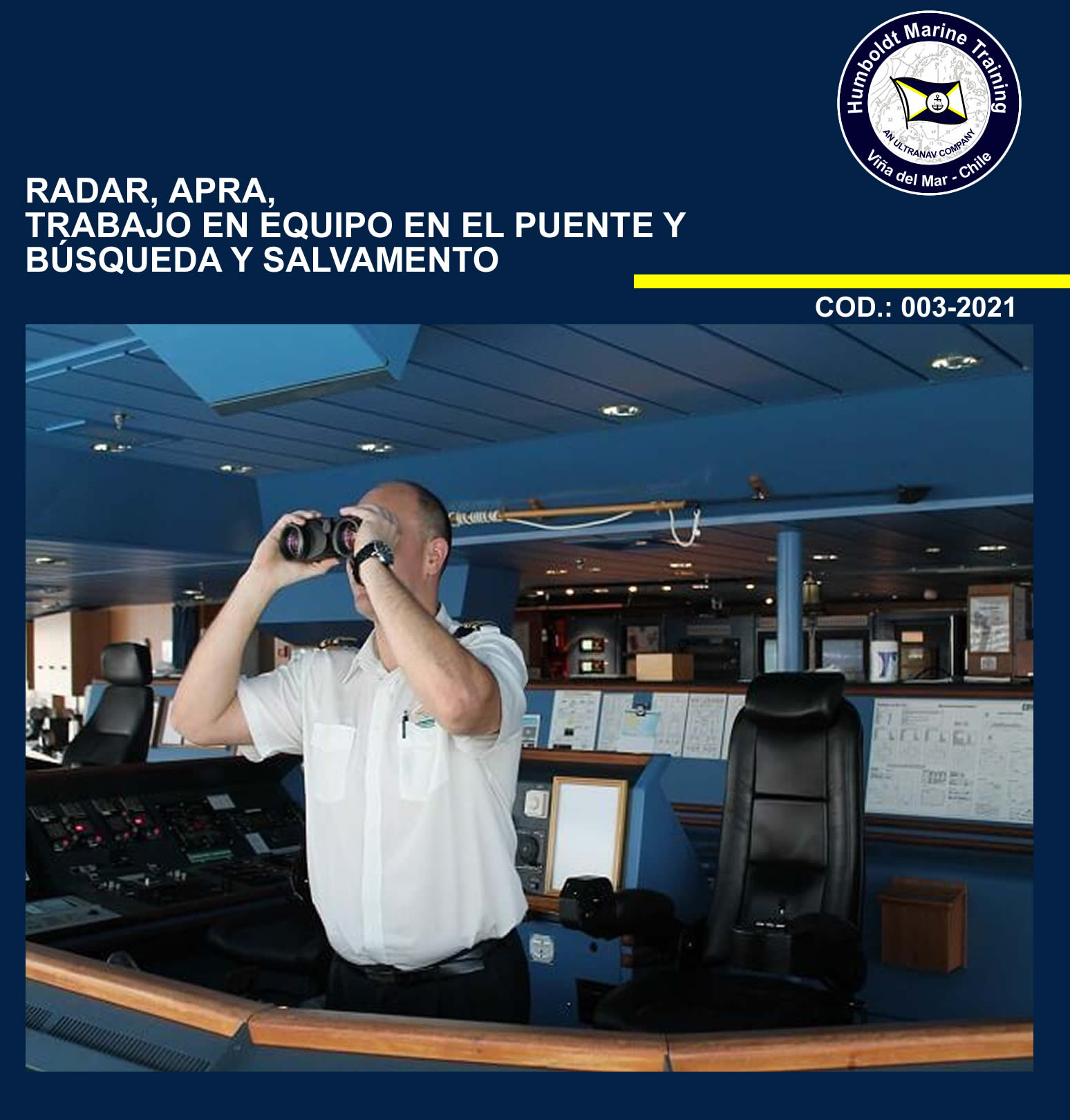 Radar, APRA, Trabajo en Equipo en el Puente y Busqueda y Salvamento